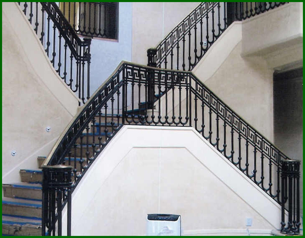 Wrought Iron Stair Railings   Denver